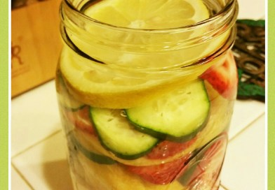 Lemon-Strawberry-Cucumber Detox
