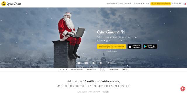 Site de Cyberghost