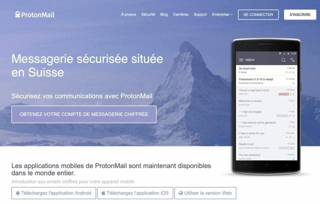 protonmail email crypte suisse