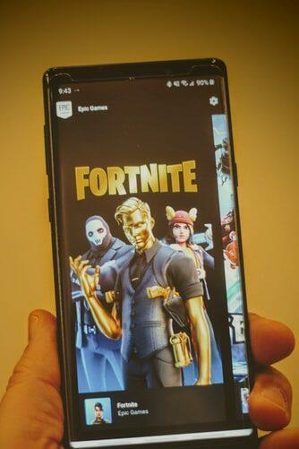 Fortnite mobile Android Samsung