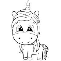 Unicorno Arcobaleno Da Colorare Unicornios Mandalas Y