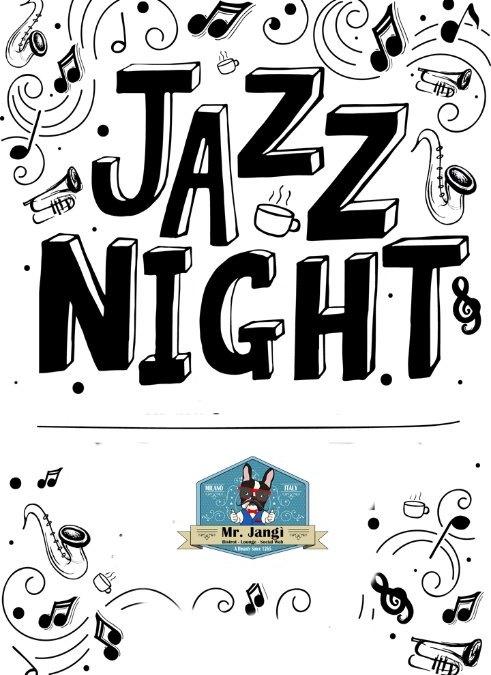 Un Sabato In Jazz – Suadente e Magico – Il Mister Jangì in Love