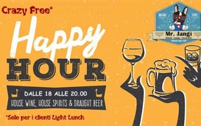 Crazy Free happy Hours al Mister Jangi