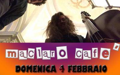 Musica dal Vivo Domenica Sera con Maclaro Cafè