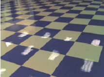stripping and waxing vct floors must be