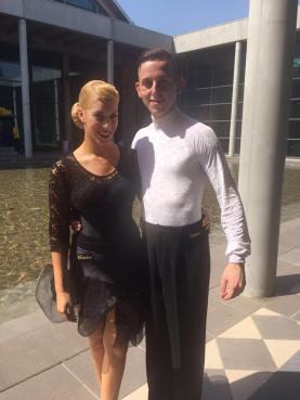 coppia di danza sportiva