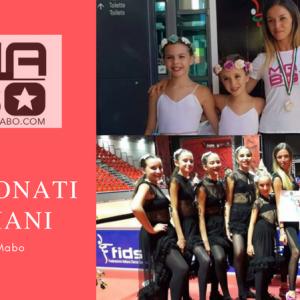 Le piccole allieve della maestra A. Persechino ai Campionati Italiani