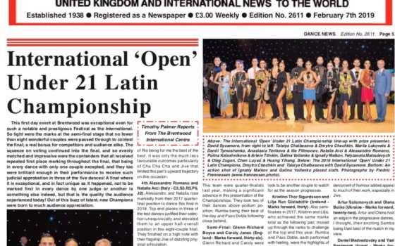 Gli atleti Natalia Arci & Alessandro Romano su Dance News