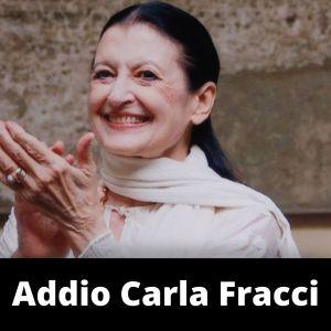 Addio Carla Fracci