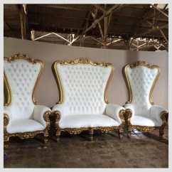 Throne Chairs For Rent Chaise Lounge Chair Leather Delaware Tables And In Rosedale Regal Loveseat
