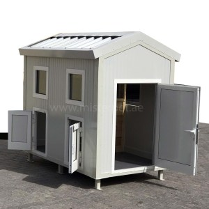 Sandwich Panel Dog House With AC