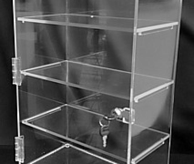 Acrylic Showcases Locking Displays Security Displays Plexiglas Plexiglass Lucite Plastic
