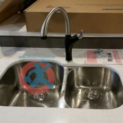 Kitchen Sinks And Faucets Copper Backsplash Renovated Sink Faucet Mister Plumber
