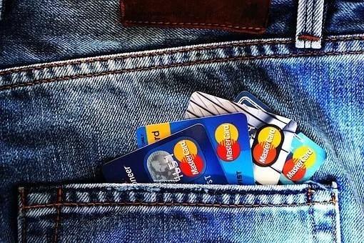 Credit Cards in pants pocket