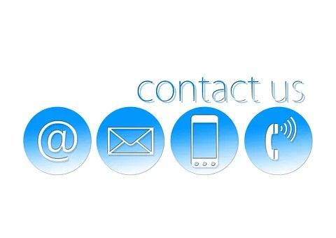 Contact us with symbols