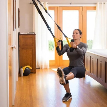 TRX for easy at home workouts