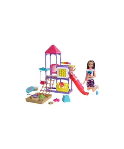 Things to do this Christmas- Barbie playground gift set