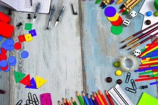 back to school- art supplies