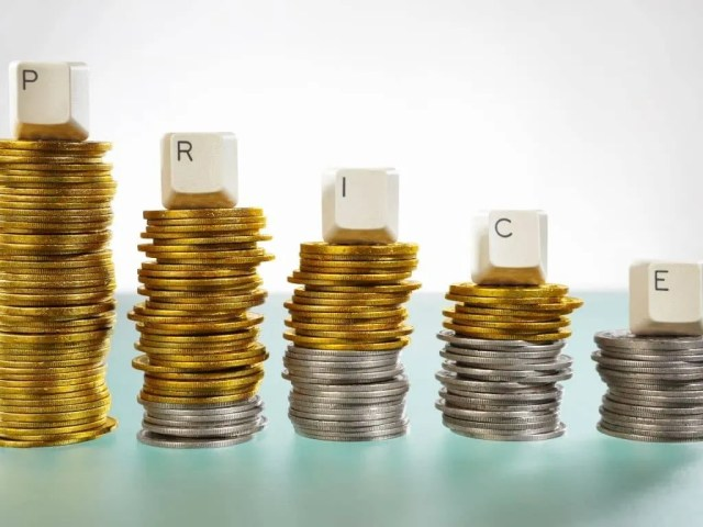 Creating Urgency In sales- tier pricing picture with stacks of coins