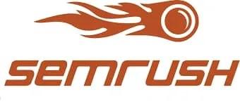 Broken links on a website- Semrush logo