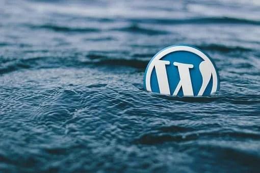 Design a web page- WordPress logo