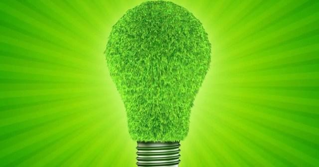 Top Renewable Energy Stocks- Green light bulb pic