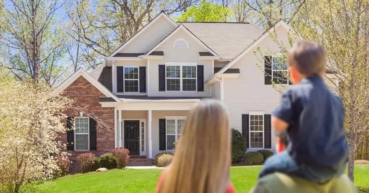 How to be successful in life- family with new house