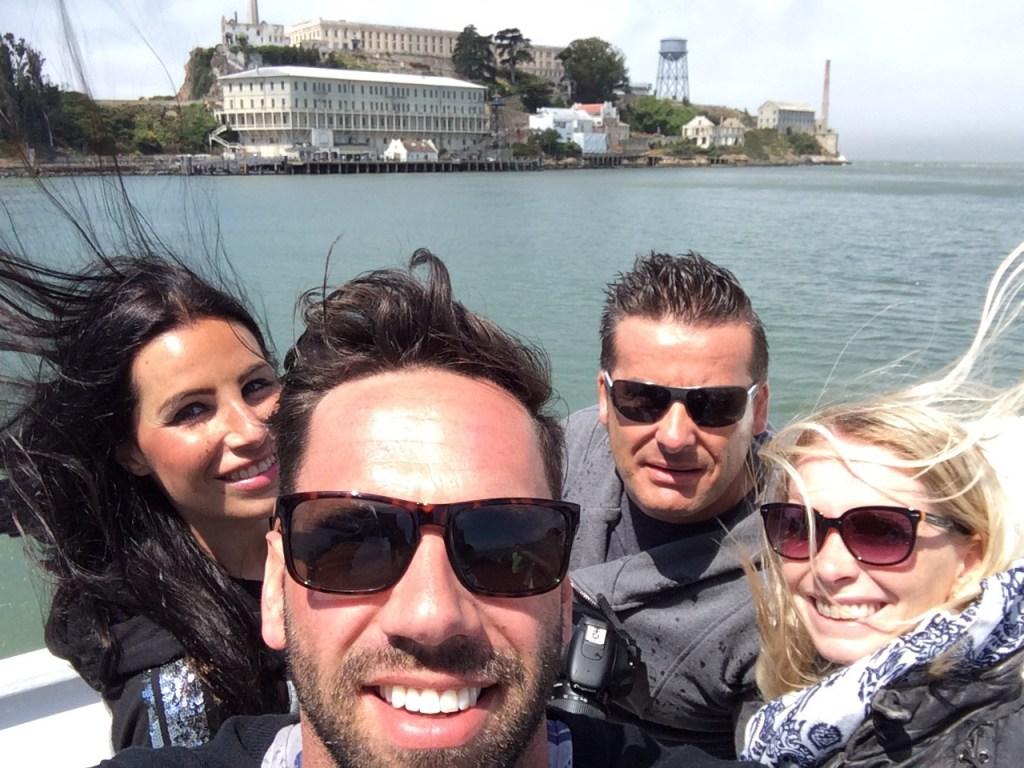 Yeah...gleich sind wir auf Alcatraz!!!