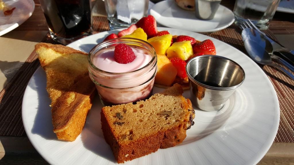 Das Frühstück im Arizona Biltmore war einfach nur der Hammer. Zu dem Bild muss ich eigentlich nichts mehr sagen… :)