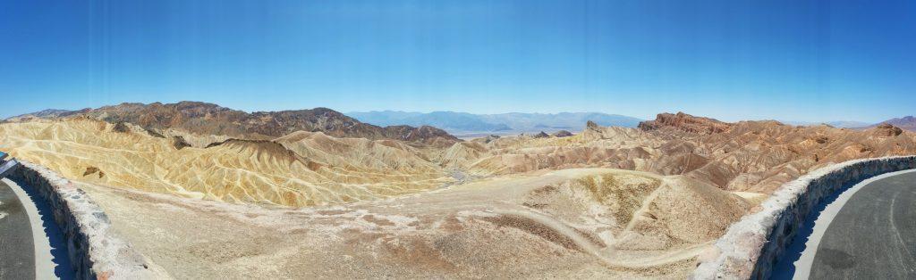 Der Zabriskie Point ist ein Aussichtspunkt im Gebiet des Gebirgszugs der Amargosa Range im Death-Valley-Nationalpark, der für seine bizarren Erosionslandschaften um den ehemaligen Lake Manly bekannt ist. Er wurde zu Beginn des 20. Jahrhunderts nach Christian Brevoort Zabriskie aus Wyoming benannt, dem Vizepräsidenten und Geschäftsführer der Pacific Coast Borax Company, die mit dem Boraxabbau in dem Gebiet beauftragt war.
