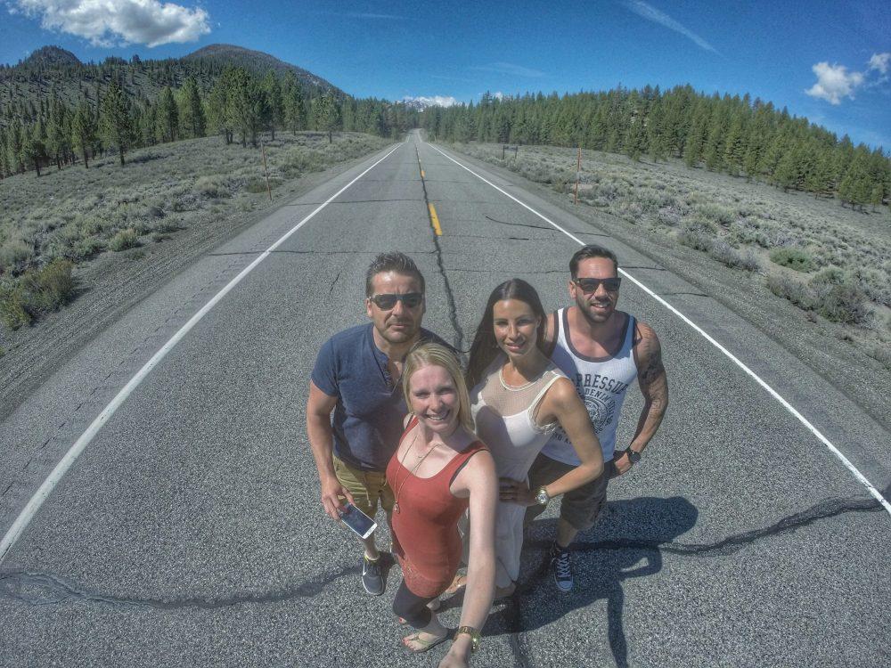 Dieses Foto entstand auf der June Lake Loop. Ich sage nur, ein wahnsinnig geiles Panorama und gleichzeitig wieder ein Beweis…..WIR WAREN HIER!!! :)