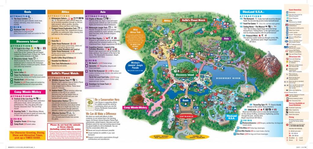 Karte-Animal-Kingdom