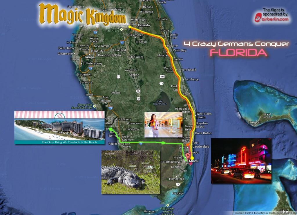 Karte-Florida