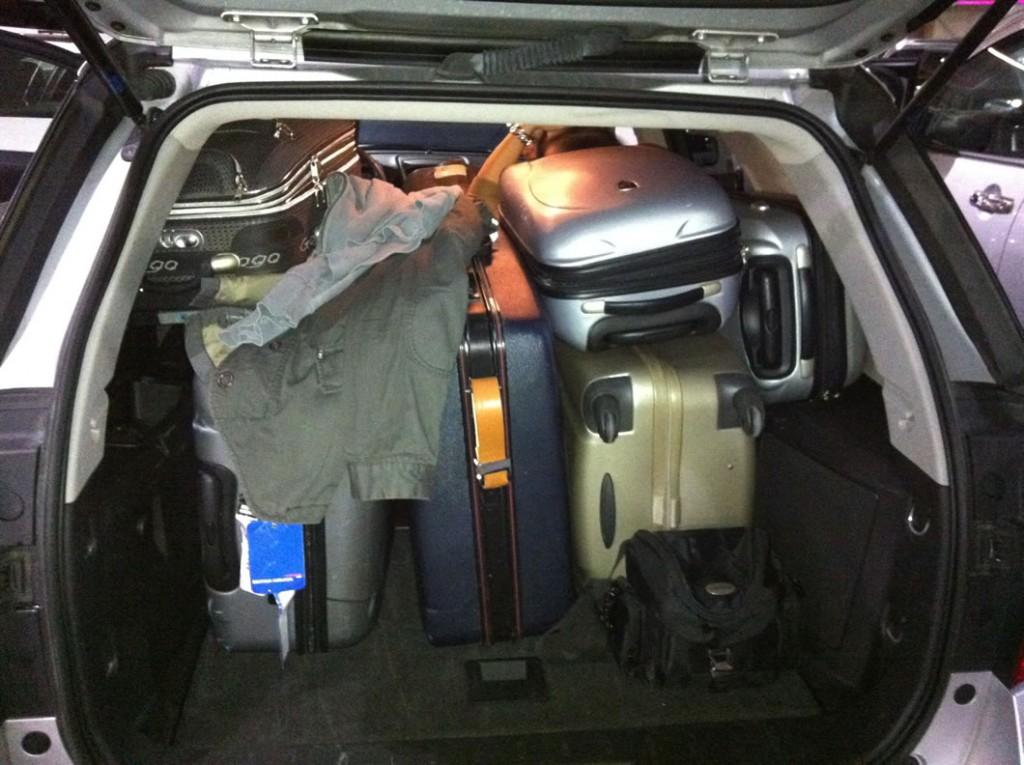 Kofferraum (Florida Road Trip 2013)