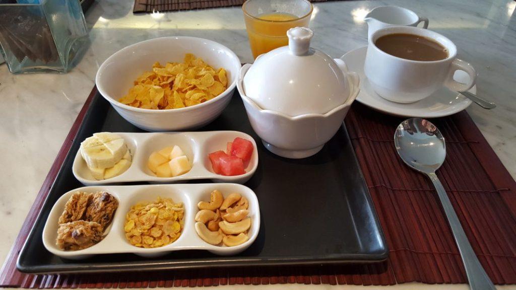 Mein morgendliches Frühstück im On On.