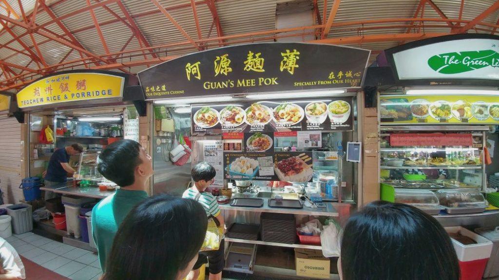 Am nächsten Tag ging es nach Chinatown. Pünktlich gegen Mittag besuchte ich eine klassische Garküche und konnte mich zuerst nicht entscheiden, was ich essen soll.