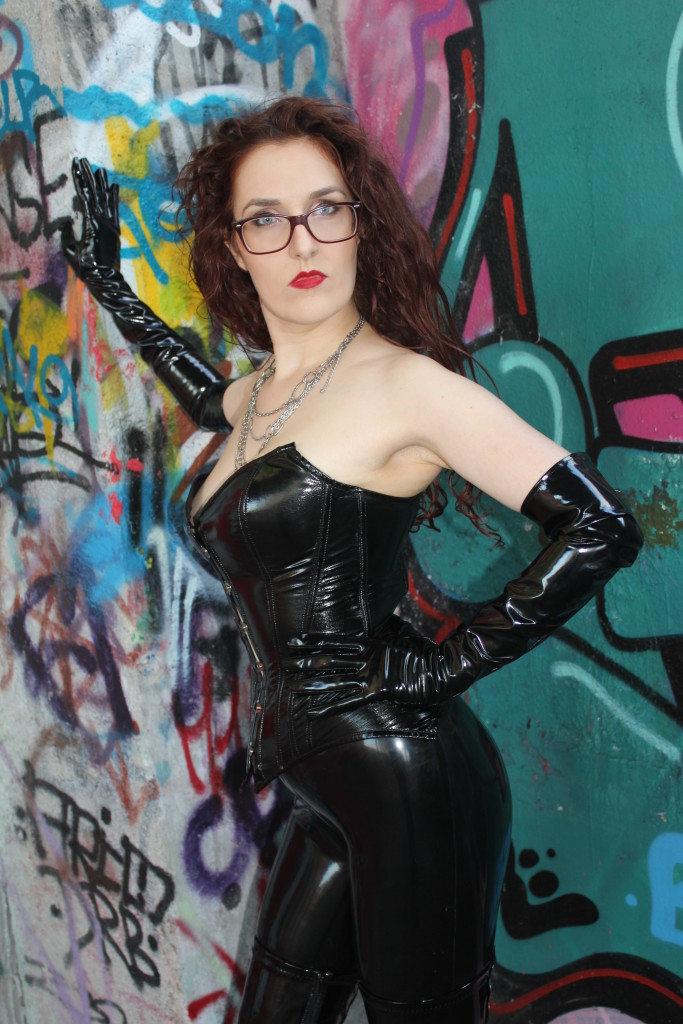 In Latex Mistress Myra The Playful Madame