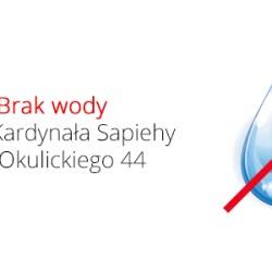 Brak wody na ul. Sapiehy i ul. Okulickiego