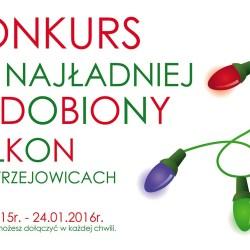 Konkurs na najładniej ozdobiony balkon w Mistrzejowicach (do 24.01!)