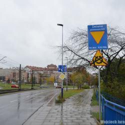 Zmiana organizacji ruchu na Rondzie Piastowskim