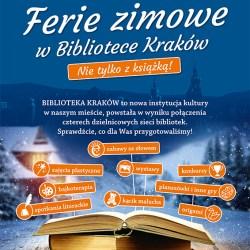 Ferie zimowe w Bibliotece Kraków nie tylko z książką!