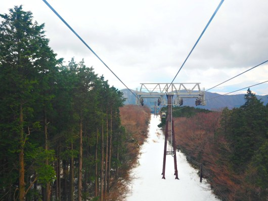 Hakone Ropeway - beautiful view, as always