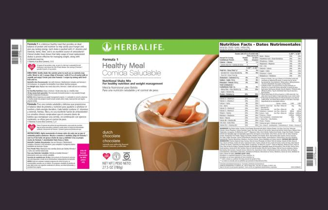 Herbalife label