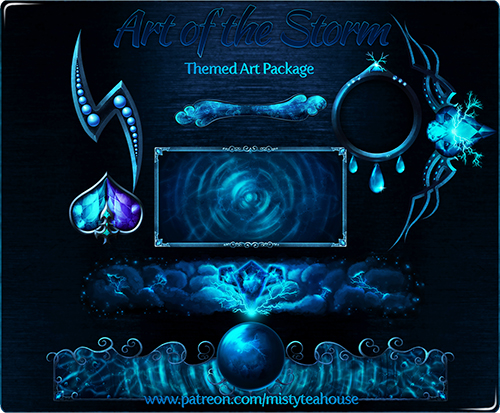 Themed Art Package (Storm)
