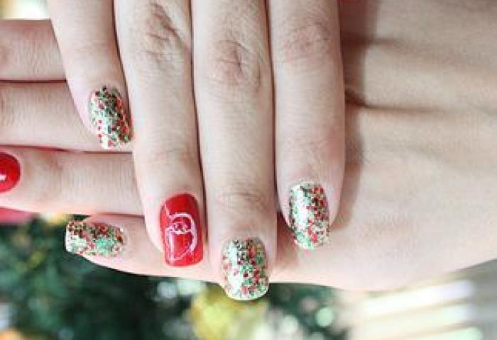 Ideas Para Decorar Las Uñas En Navidad Mis Uñas Decoradas