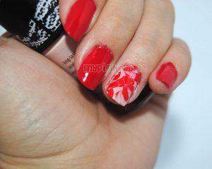 Decorados De Uñas Con Rojo Uñas Francesas Decoradas