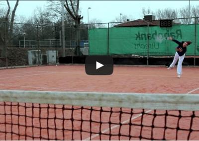 Tenniswedstrijd
