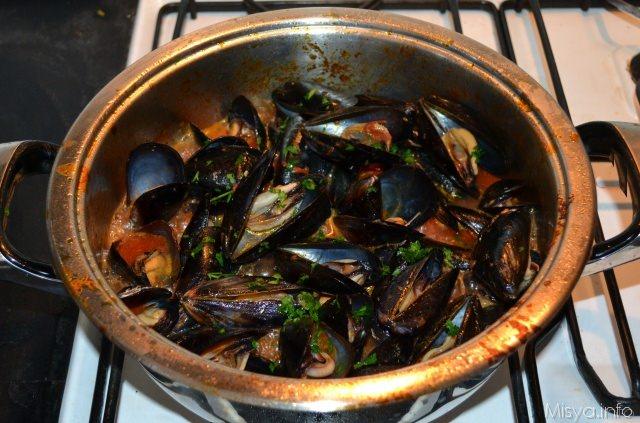 Zuppa di cozze  Ricetta Zuppa di cozze di Misya