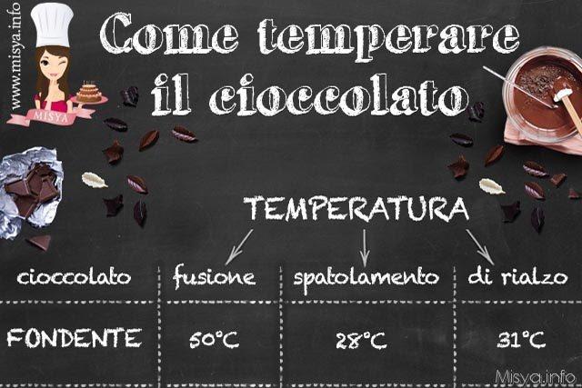 Come temperare il cioccolato  Misyainfo