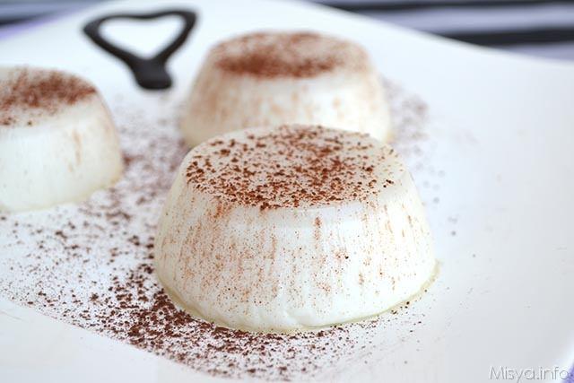 Risultati immagini per budino di riso con cacao